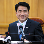 H.E. Mr. Nguyen Duc Chung (Chairman of Hanoi People's Committee)