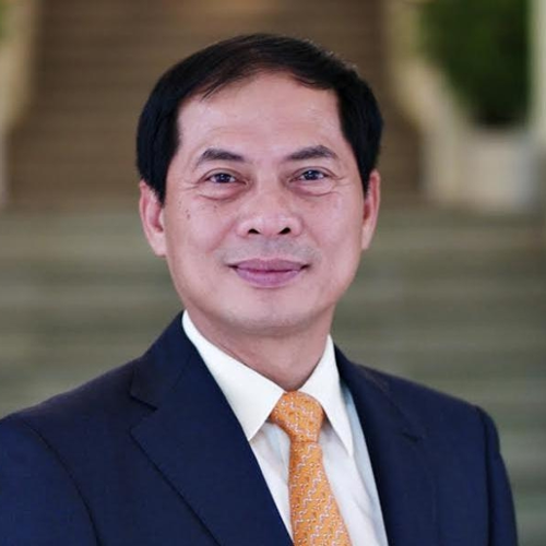 H.E. Bui Thanh Son (Standing Deputy Minister of Foreign Affairs of Vietnam)